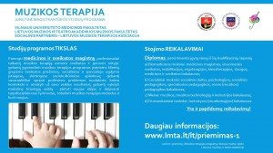 Muzikos terapijos studijos 2016