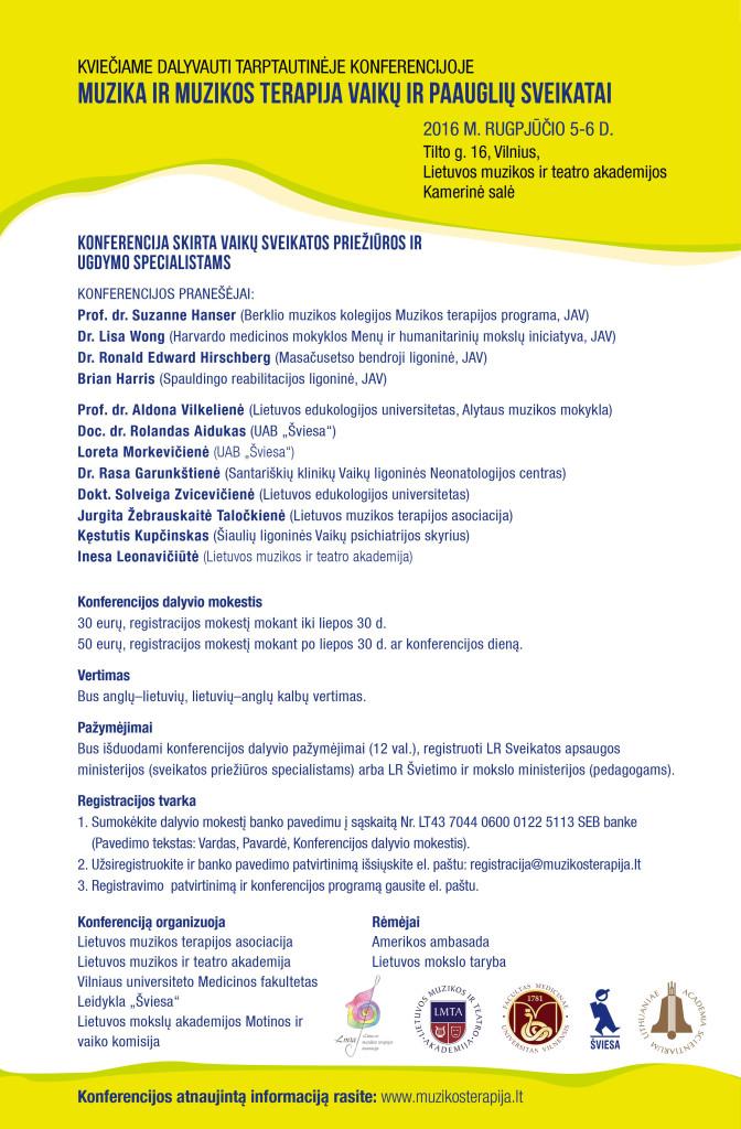 Kvietimas i konferencija